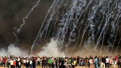 Photo de Raids israéliens sur Gaza après des tirs de roquettes, un Palestinien tué