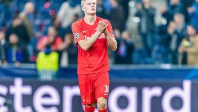 Photo de Le prodige norvégien Erling Haaland s'engage avec Dortmund