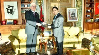 Photo de Le nouvel ambassadeur US remet ses lettres de créances