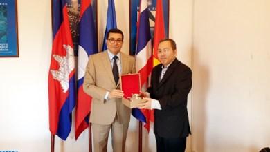 Photo de L'ambassadeur du Maroc à Bangkok reçoit le prix «AsiaOne»