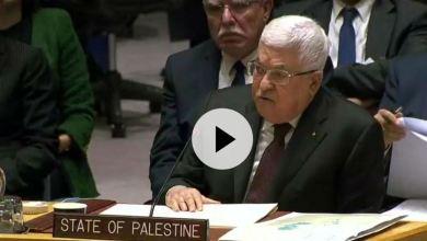 Photo de Abbas au Conseil de sécurité: La paix est encore possible !