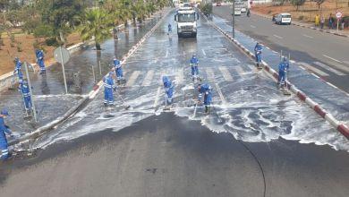 Photo de Casablanca: la désinfection de la ville se poursuit (Vidéo)