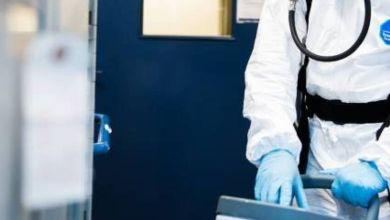 Photo de Coronavirus: Ait Taleb installe des sas de désinfection à l'entrée des hôpitaux