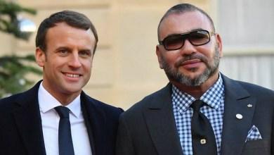 Photo de Message de Macron au roi Mohammed VI et au peuple marocain