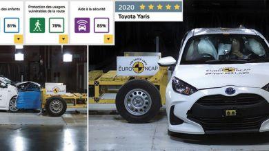 Photo de Toyota Yaris, première auto à passer les nouveaux crash-tests Euro NCAP