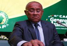 Photo de Ahmad Ahmad, le président de la CAF suspendu 5 ans par la FIFA