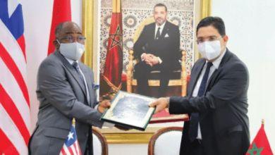 Photo de Coopération : Rabat et Monrovia, main dans la main