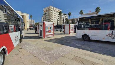 Photo de Transport urbain : de nouveaux bus pour Meknès