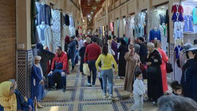 Photo de Fès : dans la médina, le commerce reprend des couleurs