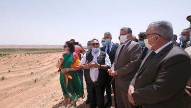 Photo de Errachidia: Akhanouch visite des projets de développement agricole (PHOTOS)