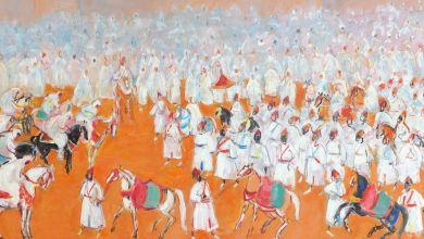 Photo de Vente aux enchères d'importantes collections particulières de peinture marocaine