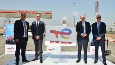 Photo de Total Maroc déploie la nouvelle identité visuelle de Total Energies