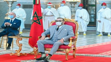 Photo de Le Roi préside la cérémonie de lancement du projet de fabrication du vaccin anti-Covid19