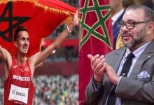 Photo de JO 2020: le roi Mohammed VI félicite Soufiane El Bakkali