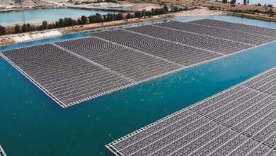 Photo de Énergie verte : la 1re centrale photovoltaïque flottante en Afrique est marocaine