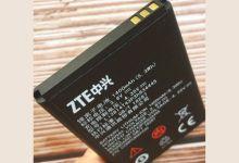 Photo de ZTE : les batteries SmartLi révolutionnaires