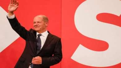 Photo de Allemagne : Le parti social-démocrate remporte les élections législatives