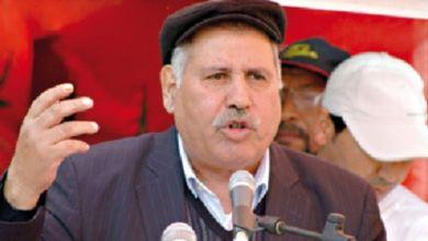 Photo de Le syndicaliste marocain Noubir Amaoui est décédé