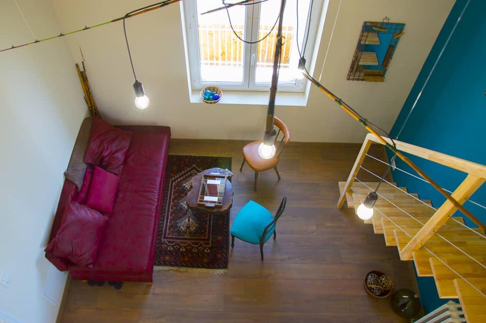 Appartement avec mezzanine à la Rochelle