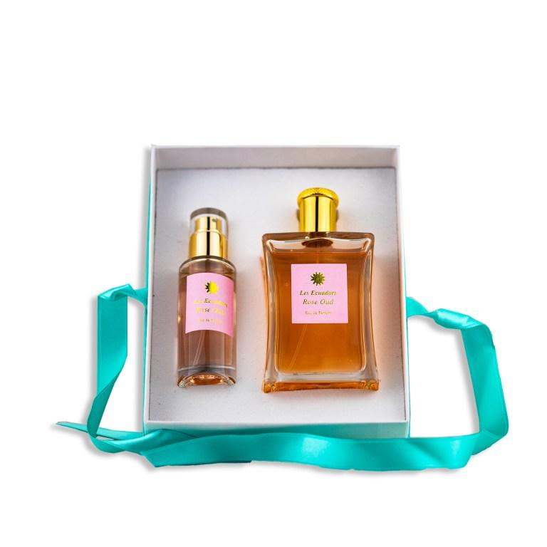 Rose Oud Eau de Parfum Geschenkset Les Ecuadors
