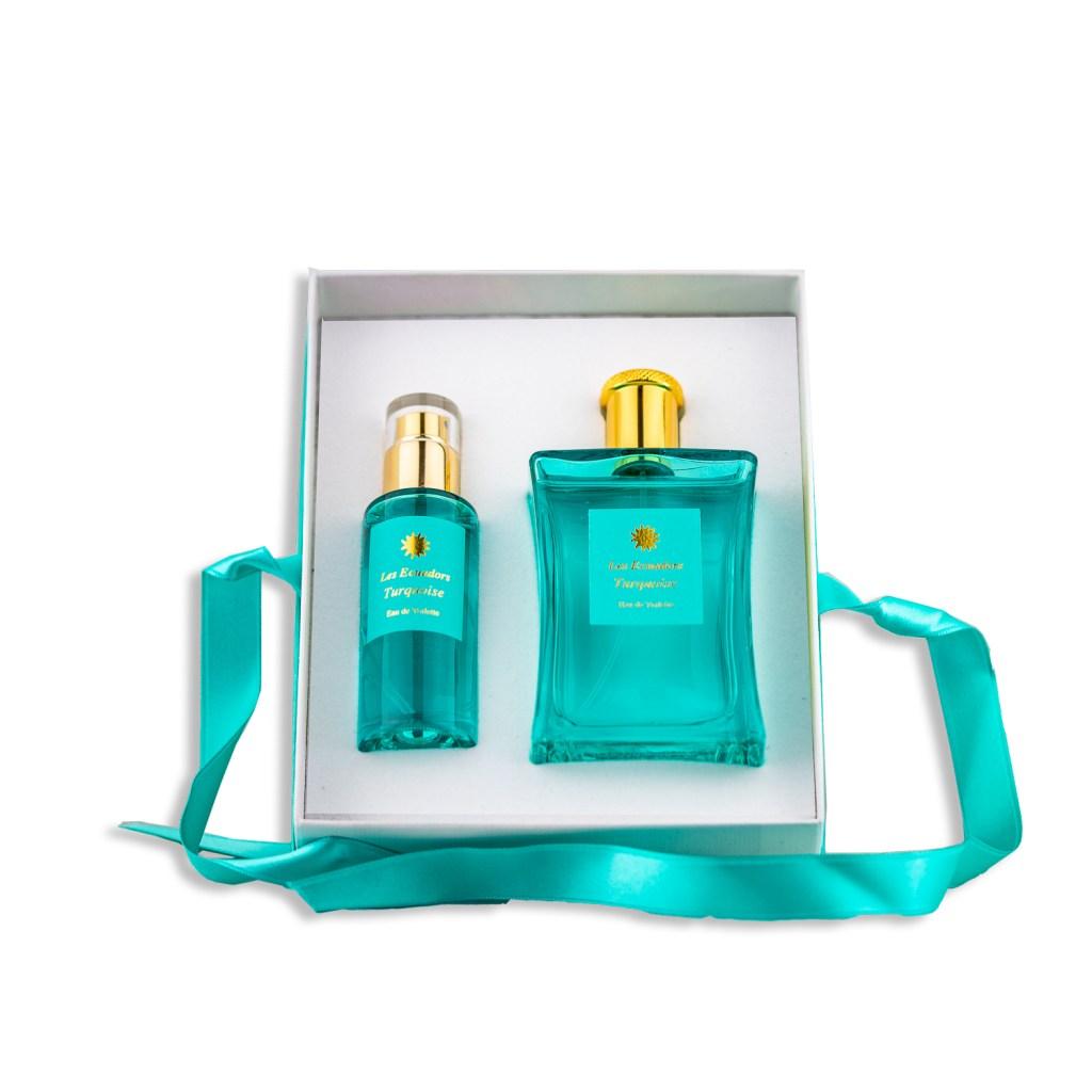 Coffret Cadeaux Eau de Toilette Turquoise Les Ecuadors