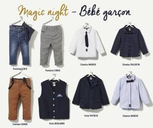 Collection TAO Magic Night bébé garçon