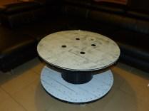 Notre nouvelle table de salon