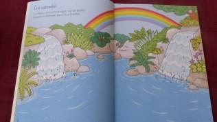 Cahier activité Coloriages et Autocollants Les Fées - Editions Usborne