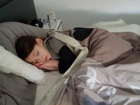 Tycia fatiguée et avec une otite