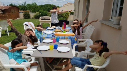 Barbecue entre copines