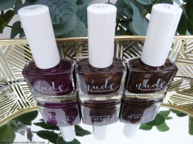Wonderland, great smoky, bucket, 3 nouvelles teintes des vernis à ongles Nude experience