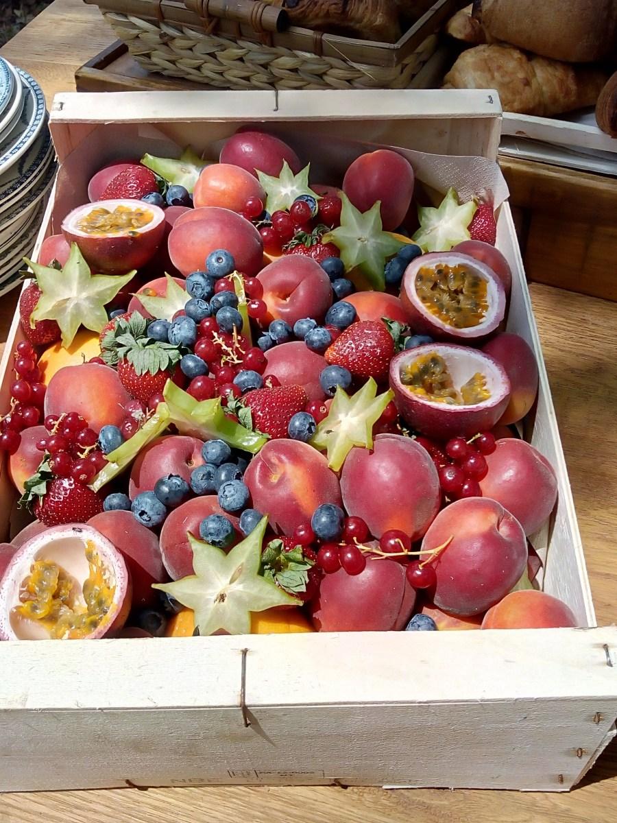 Cascade fruits Brunch