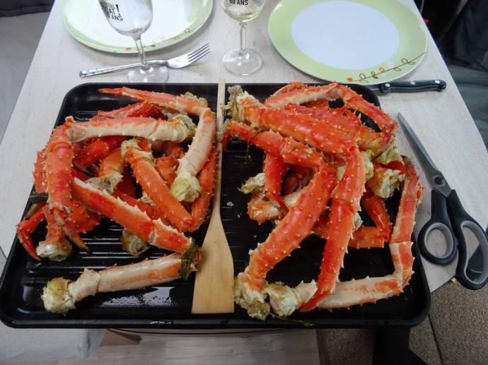 crabe royal