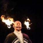 Danseur russe spectacle feu animation originale événements