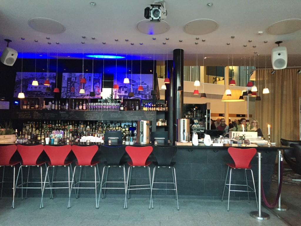 Le bar du Clarion Hotel Sign à Stockholm
