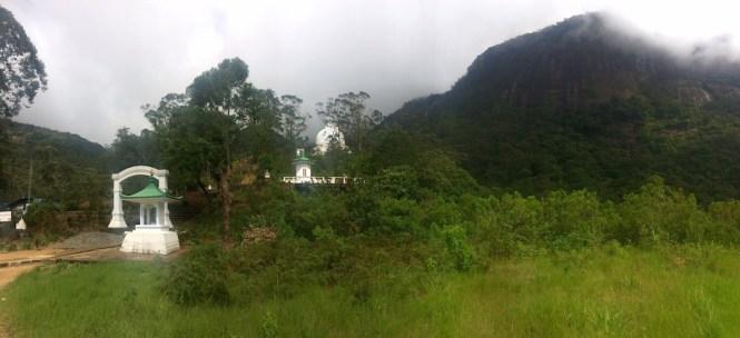 montée de l'adam's peak au sri lanka