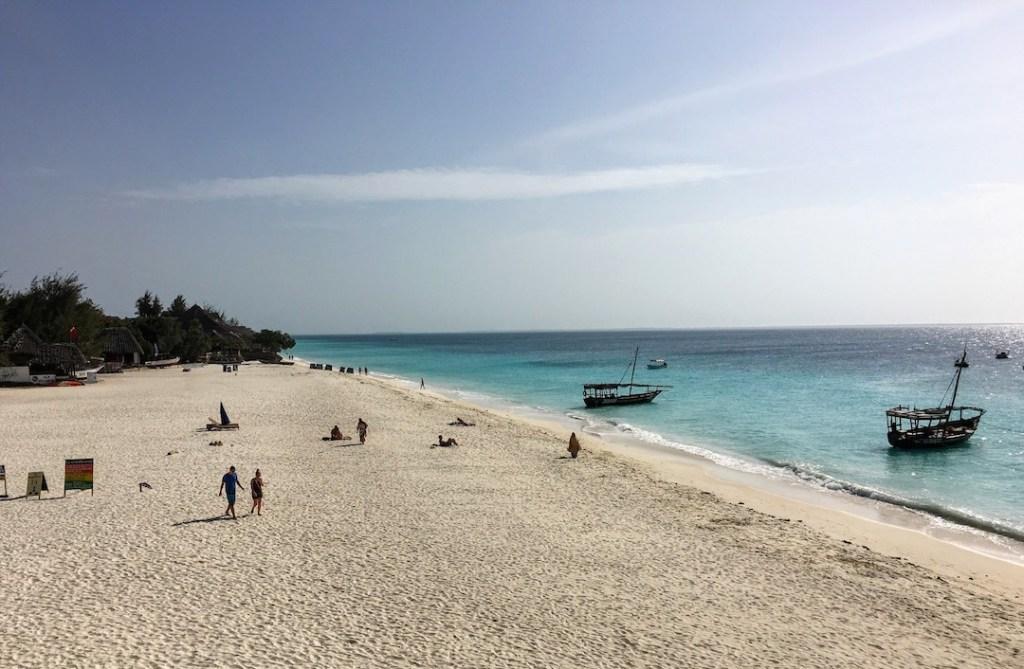 plage du Z Hotel à Zanzibar