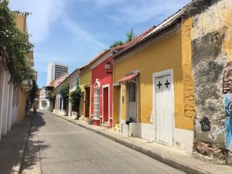 quartier coloré de carthagène