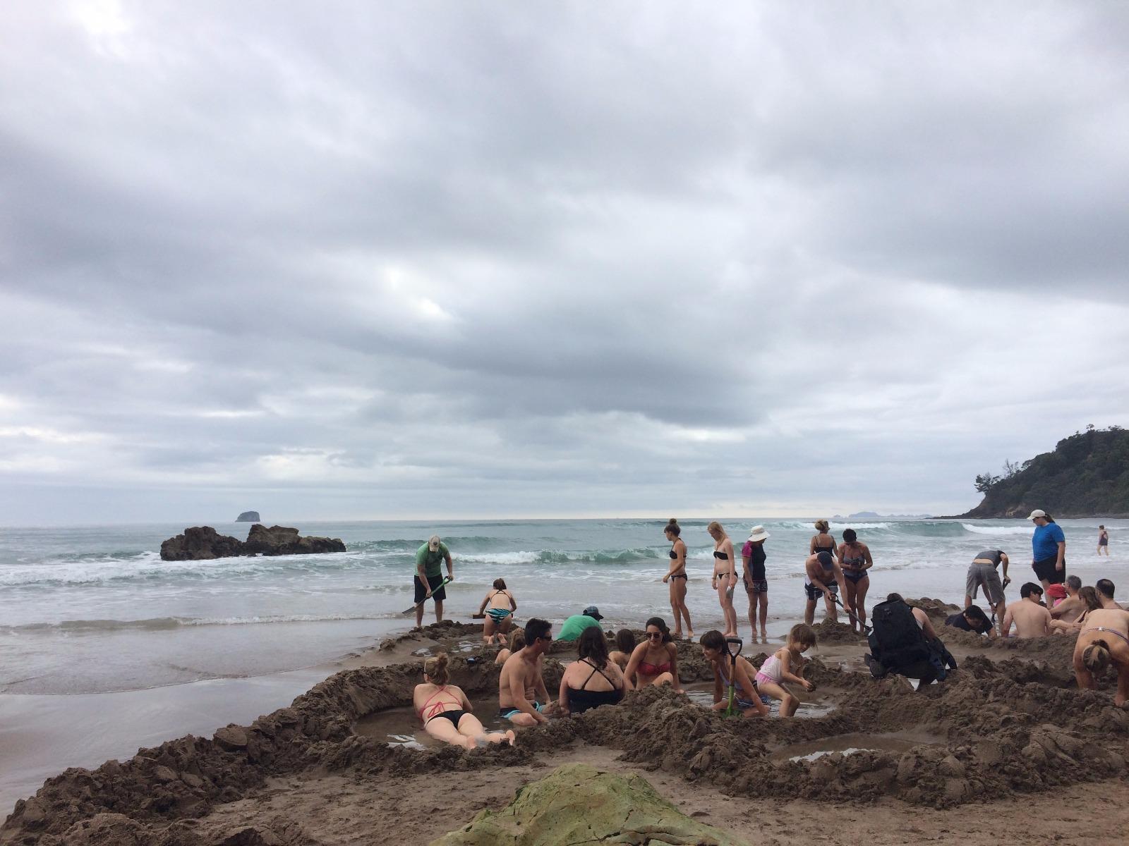 les hot water de l'île du nord de nouvelle-zélande