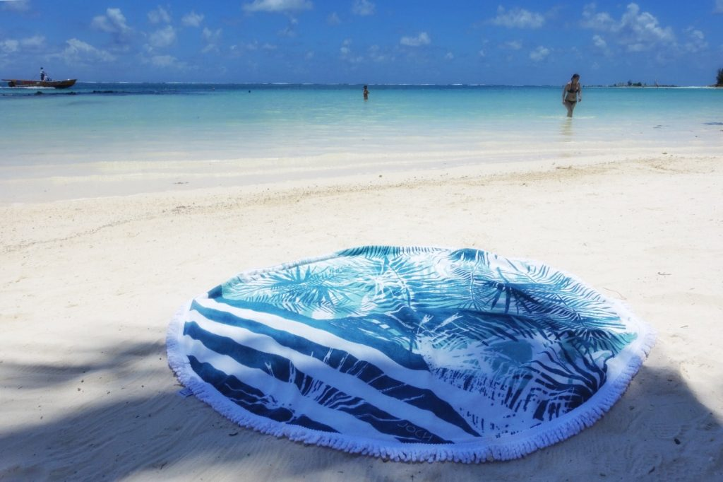 joch-serviettes-plage-rondes-ile-maurice-sable