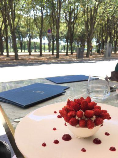 pavlova du restaurant Divellec à Paris