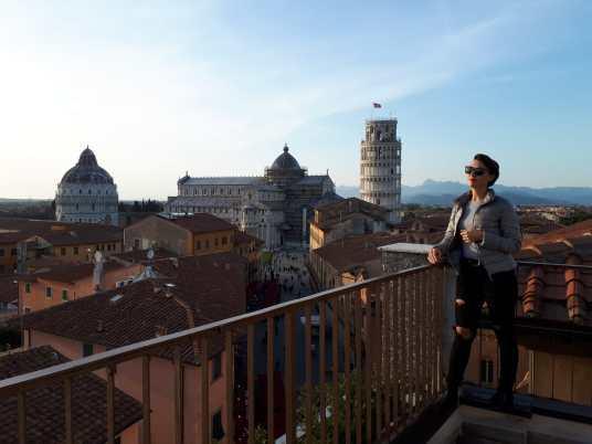weekend en italie à pise