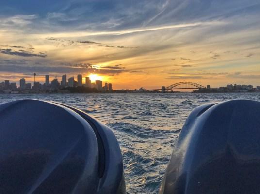 Traversée en watertaxi dans la Baie de Sydney