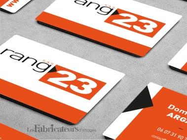 Création carte de visite Rang23 - Les Fabricateurs d'images