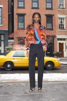GIVENCHY PRE-FALL 2014 - LOOK1