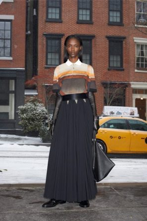 GIVENCHY PRE-FALL 2014 - LOOK15