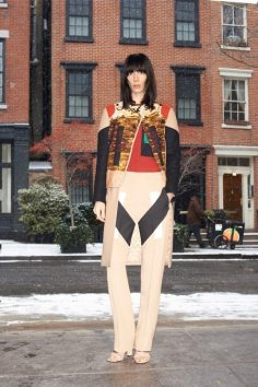 GIVENCHY PRE-FALL 2014 - LOOK2