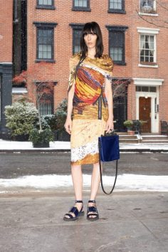 GIVENCHY -PRE-FALL 2014 LOOK3