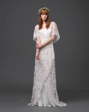 ALBERTA FERRETTI SPRING 2015 BRIDAL - LOOK 7