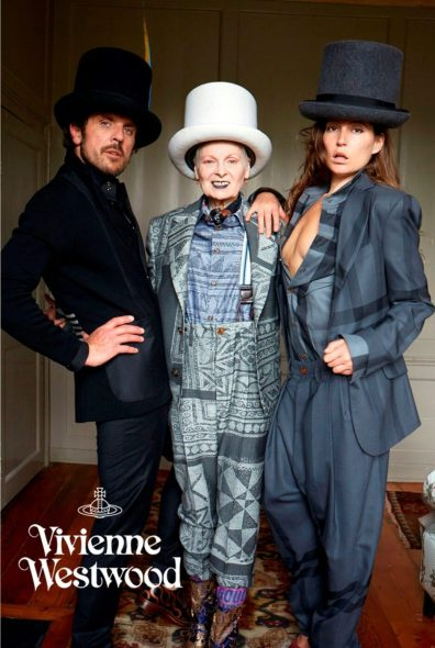 VIVIENNE WESTWOOD FALL 2014 AD CAMPAIGN 1